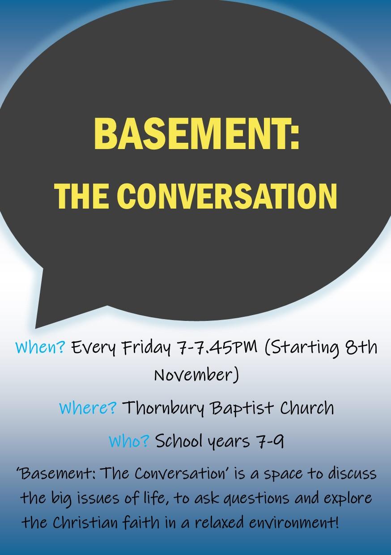 The Conversation Flyer